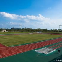 当館から車で7分!沖縄県総合運動公園
