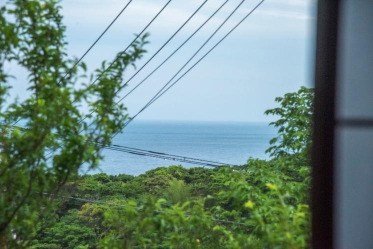 菖蒲沢ログ 2階からの眺め