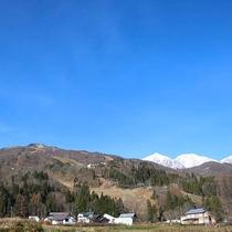 *【秋の白馬三山と白馬ジャンプ競技場】白馬ジャンプ競技場は車で約5分!雄大な自然は白馬の宝です