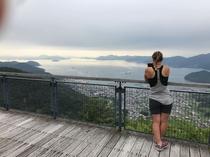野呂山からの眺望(当宿より車で10分)