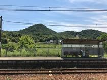 JR安登駅 目の前