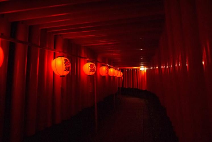【夜の京都】伏見稲荷大社_本宮祭