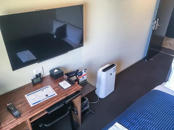 ◆シングルルーム◆全室スランバーランドベッドを完備しております。