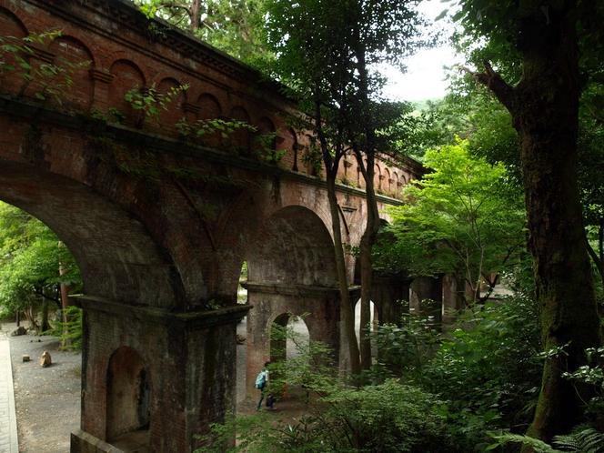 ◆観光◆琵琶湖疏水 水路閣(南禅寺)