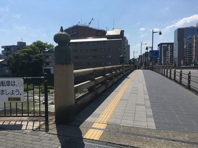 【清水五条駅からの道順】②