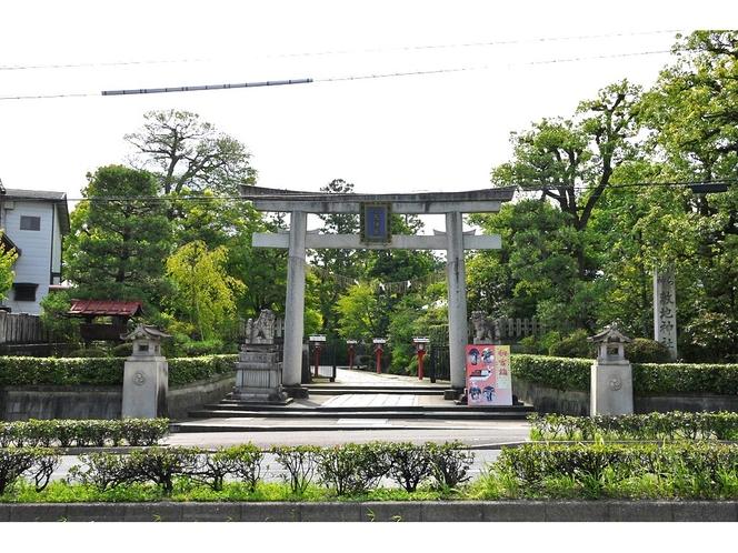 ◆観光◆わら天神(敷地神社)
