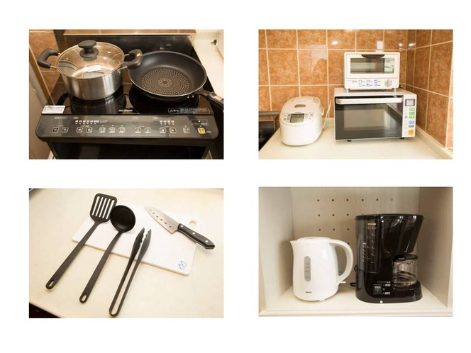 2階キッチンにある家電・調理器具
