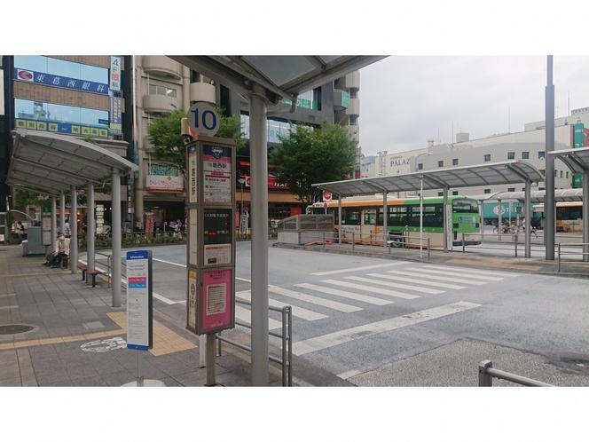 ディスニーリゾート行 葛西駅 10番乗り場