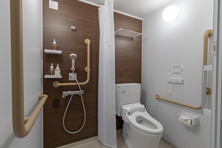 スタジオルーム・リゾート(車椅子用)トイレ
