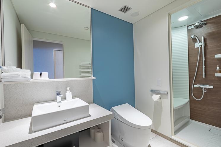 スタジオルーム・リゾート シャワールーム