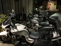 バイク室内