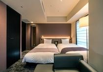 ツインルーム(23㎡・ベッド幅110cm×2台)