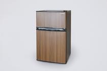 全室2ドア式の冷蔵冷凍庫を完備しています