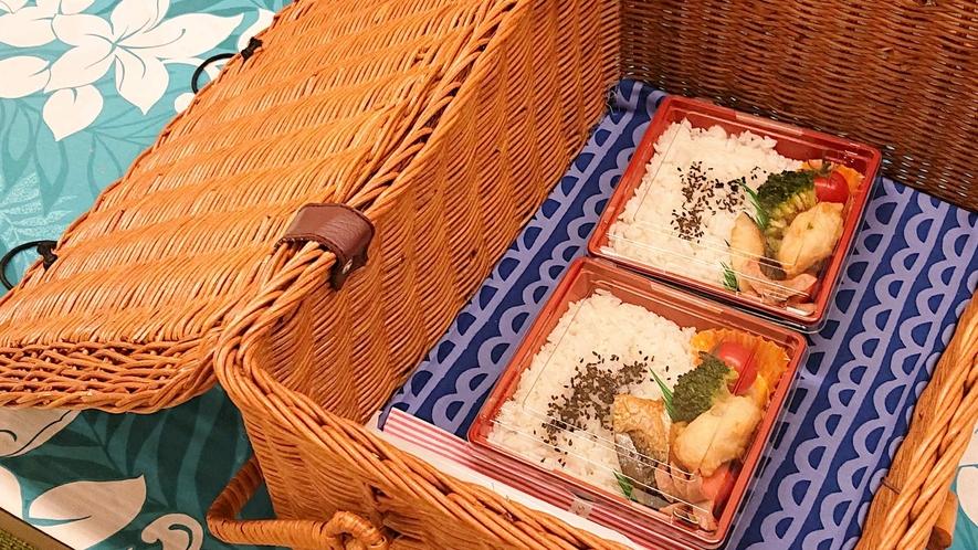 【無料朝食のお弁当一例】日替わり弁当です♪