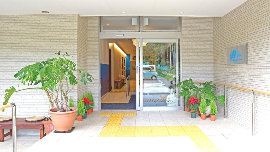 ホテル入口★