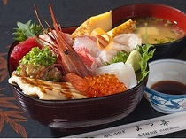 食事_まつ善_海鮮丼_No1