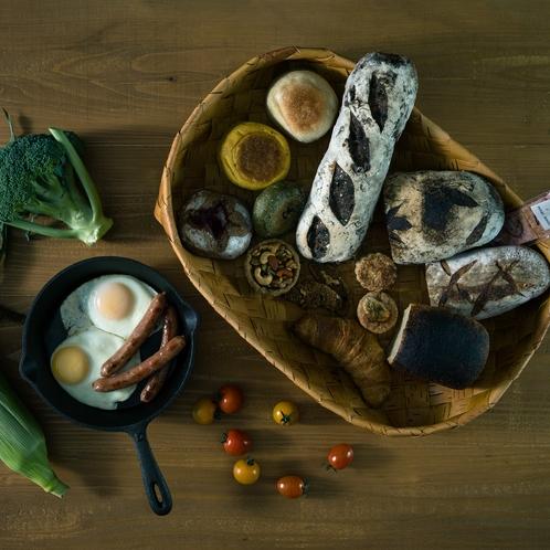 朝食セット、長沼でしか味わえない朝の美味しいひとときをご堪能ください