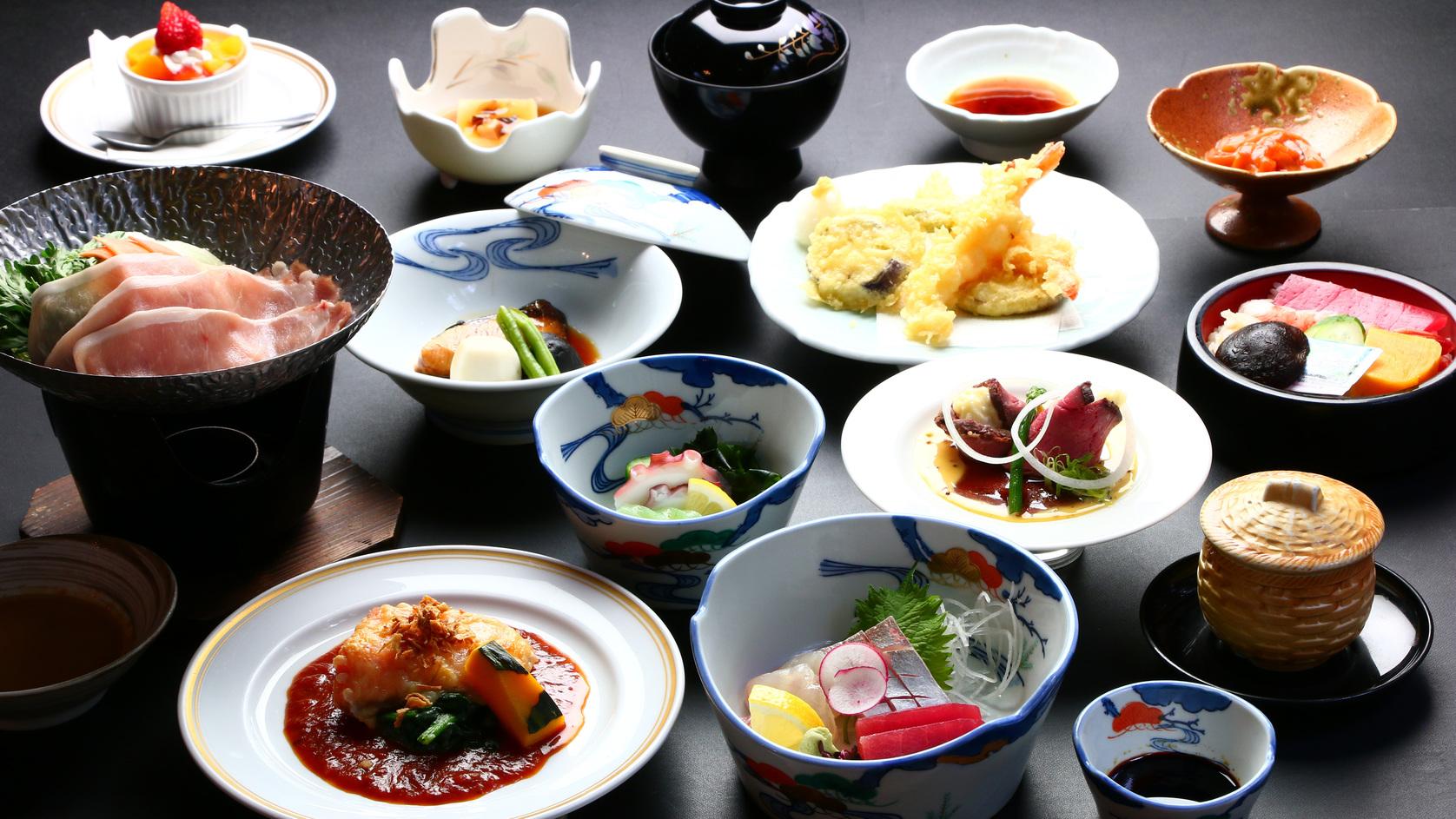 ■夕食■竹会席