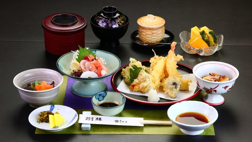 ■夕食■天ぷら刺身膳