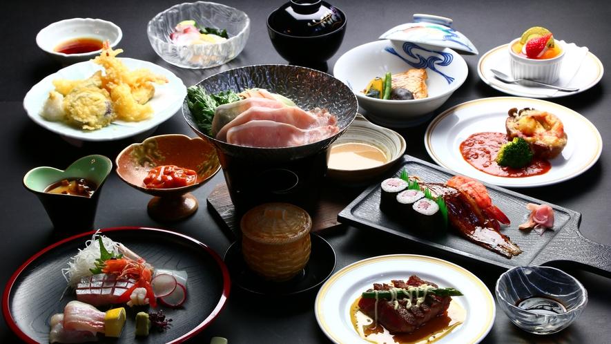 ■夕食■松会席
