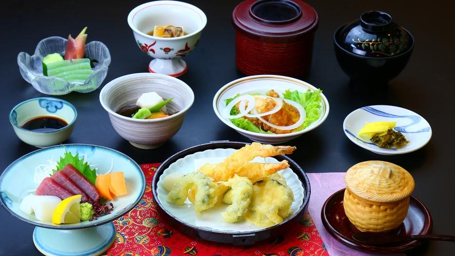 【夕食】50歳以上限定_料理控えめプラン