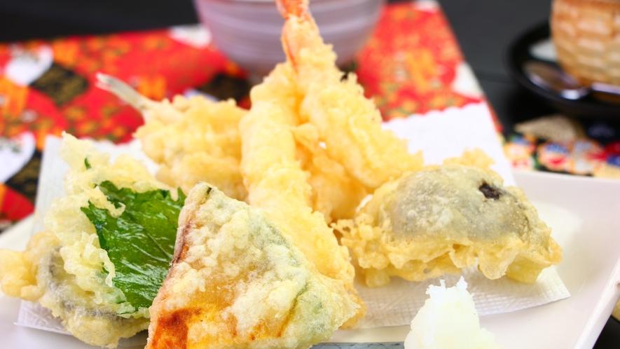 ■夕食■天ぷら膳_天ぷら