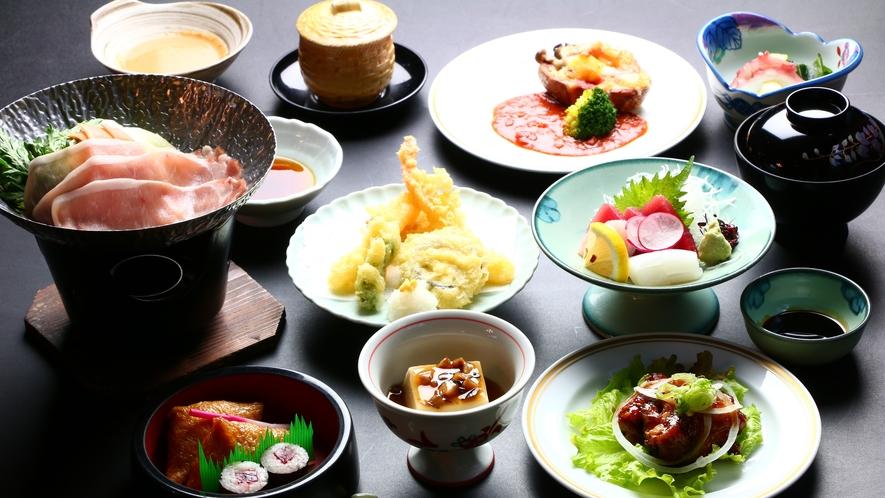■夕食■梅会席