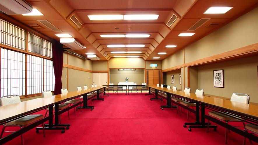 ■くじゅう■和室を使っての宴会やご会合には60畳の中宴会場をご利用ください。