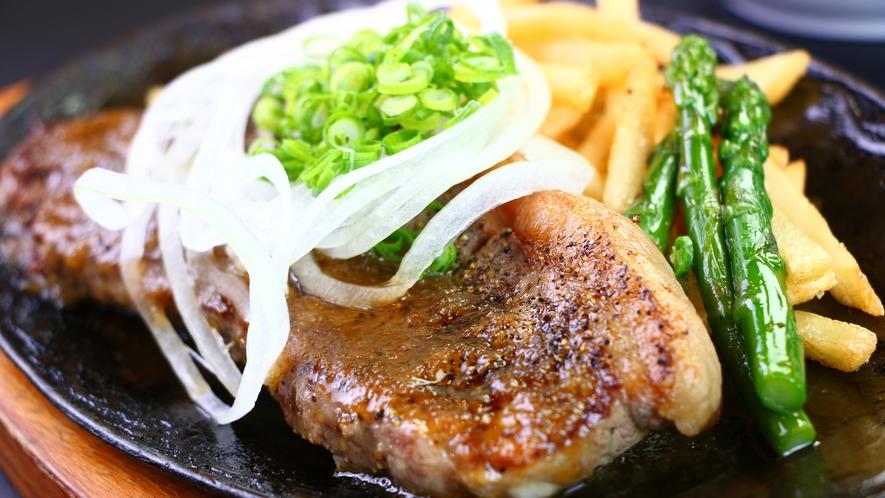 ■夕食■特選アメリカンステーキセット_ステーキ