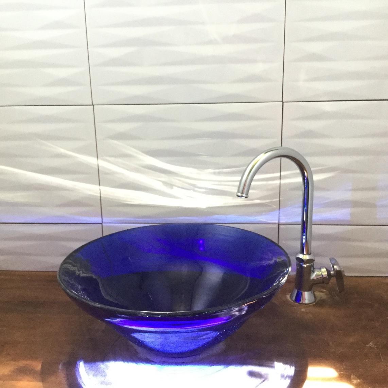 琉球ガラスの洗面ボール