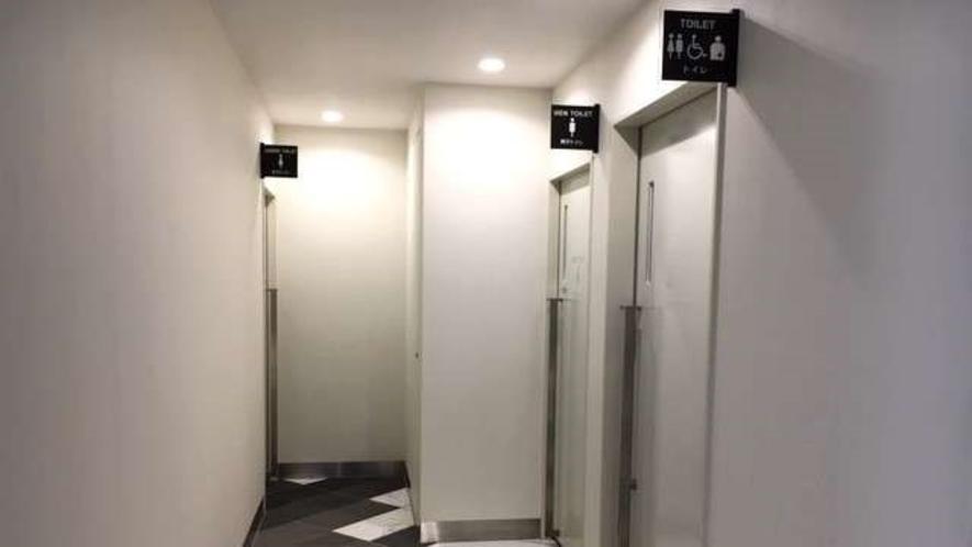 1階ロビー化粧室