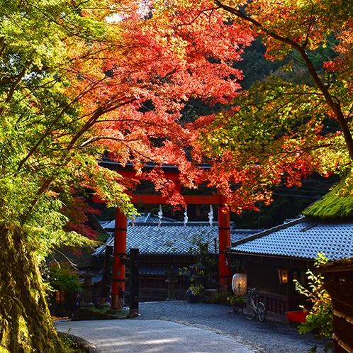 嵯峨鳥居本伝統的建造物群保存地区(当館よりバス+徒歩で約25分)