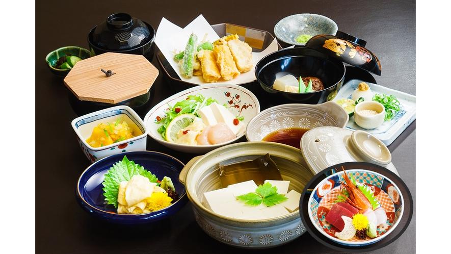 【嵐山コラボ】あらし山遊月 湯豆腐会席イメージ