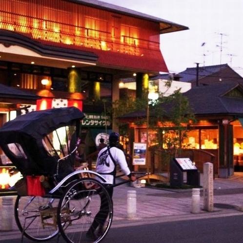 ◇京の風景 人力車