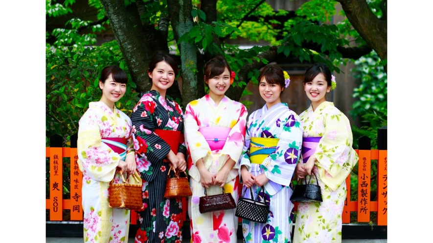 【嵐山コラボ】ぎをん錦 浴衣イメージ02
