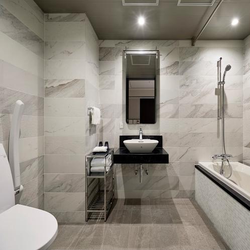 【バスルーム】ユニバーサルツインルーム