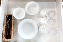 客室食器類、完備☆