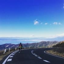 コナステイ伊豆長岡一押しのサイクリングコースです。日本を象徴する景色として万博でも使用された風景の眺