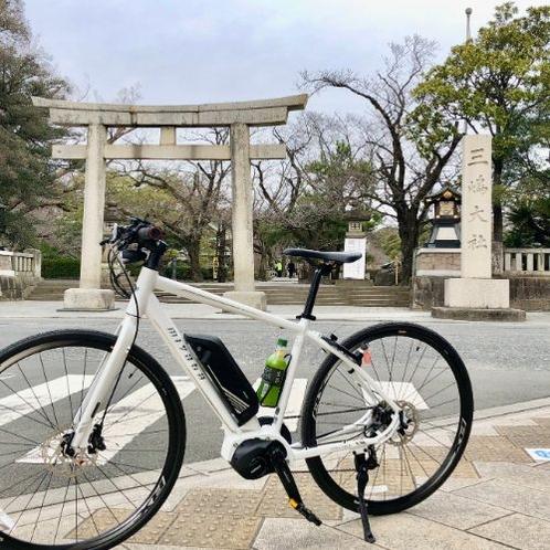 静岡県の初詣参拝客数1位の三島大社、約62万人が初詣に訪れます。