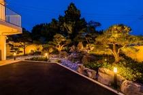 庭園(夜景)