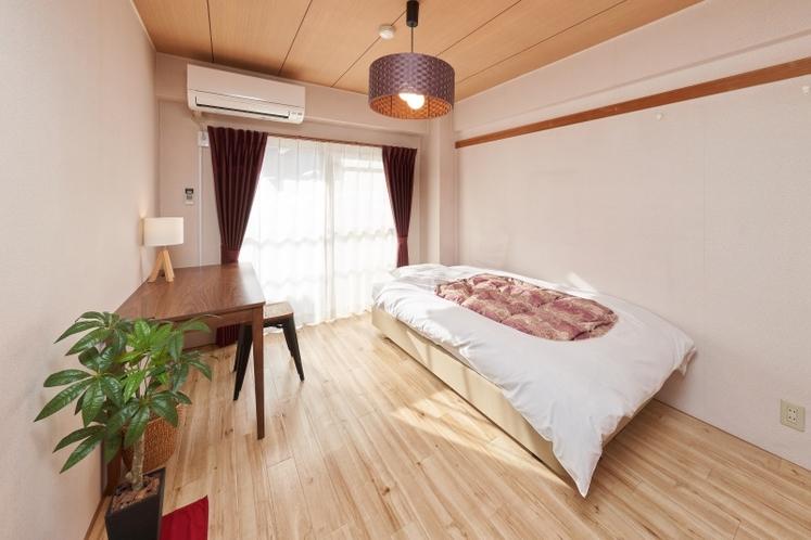 寝室(シングルルーム)