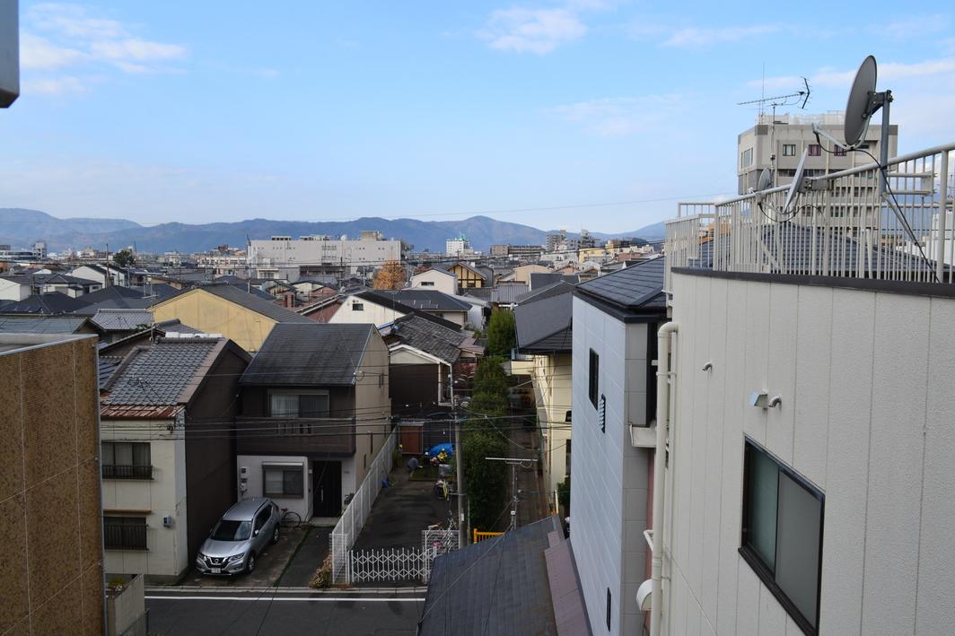 4階からの景観