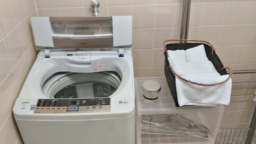 【1階】洗濯機・干し場
