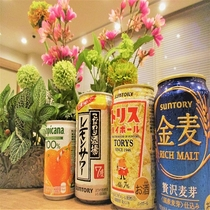 ◆ハッピーアワー アルコール・ソフトドリンク無料提供中 営業時間:21:00~23:00