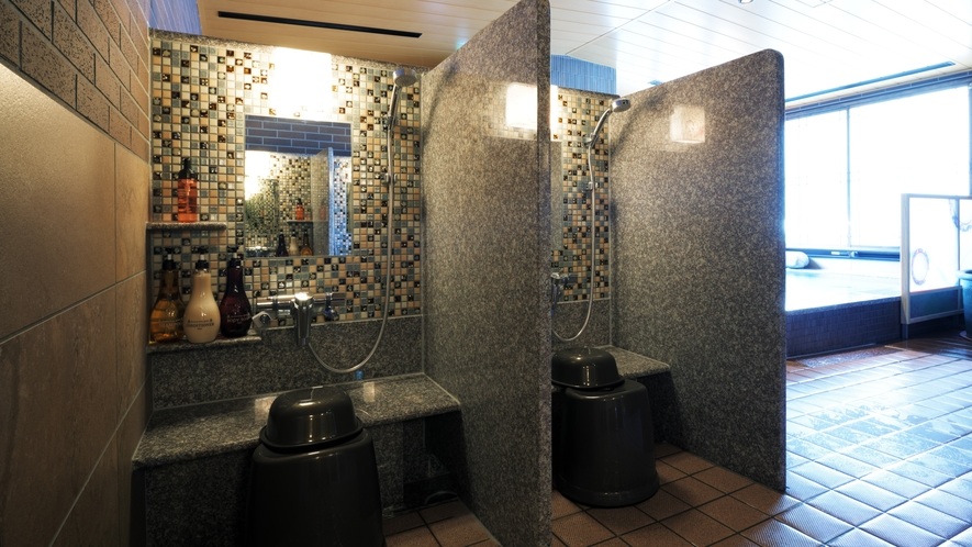 ◆女性大浴場【洗い場】 8ヵ所