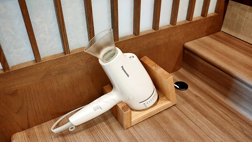 ◆男性、女性大浴場 ヘアドライヤー【Panasonicナノケア】