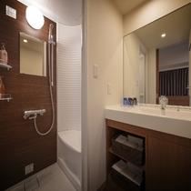 ◆客室【パウダーブース&シャワーブース】