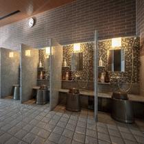 ◆大浴場【洗い場】