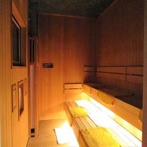 ◆男性大浴場 サウナルーム 営業時間:15:00~翌10:00(1:00~5:00停止中)