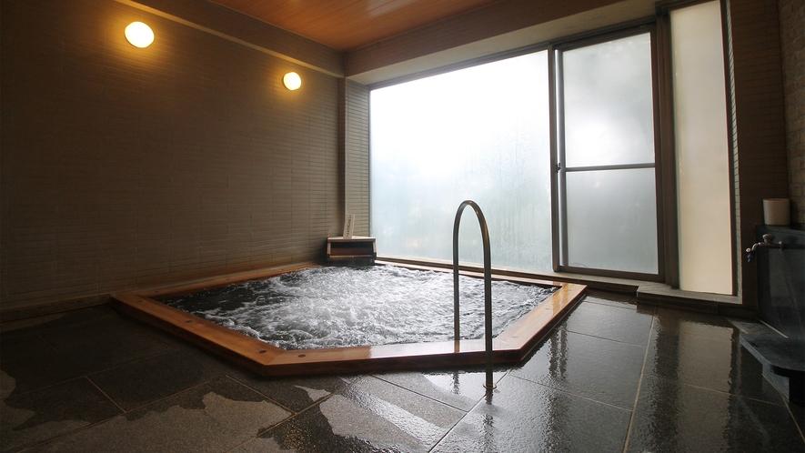 ■温泉◇カルシウム・ナトリウム-硫酸塩・塩化物温泉  (低張性・弱アルカリ性・高温泉)